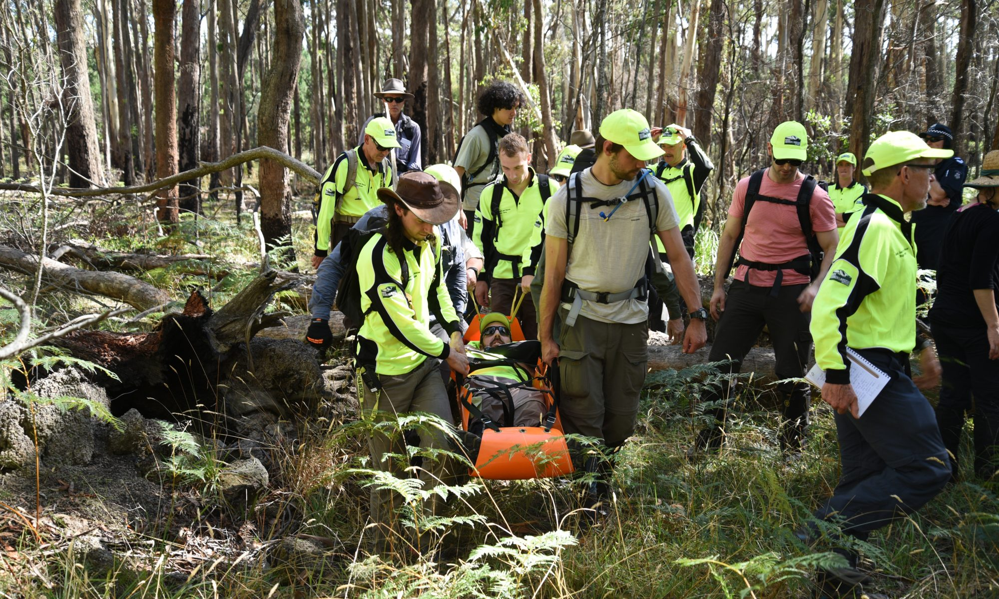 BSAR search and rescue training