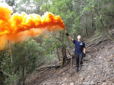 2010 Combienbar search smoke flare