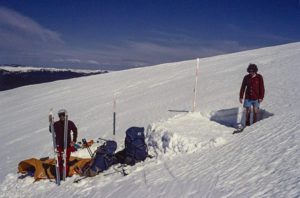Tent Platform Snow Bogong