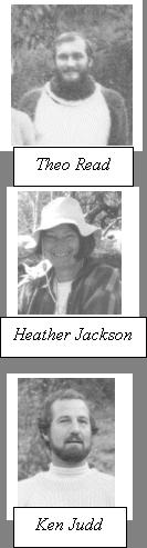 Theo Read, Heather Jackson, Ken Judd