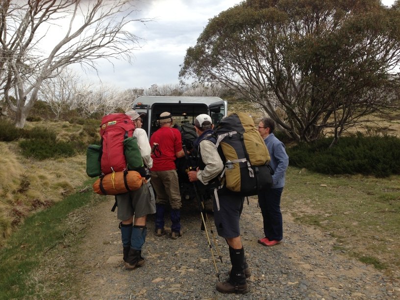 After the Trip opening photo Landrover Bogong High Plains, Victoria