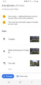 Mobile Phone Navigation - directions